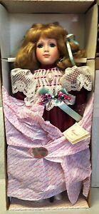 Molly - Camelot Poupées 53.3cm Porcelaine Artisanal Tout Nouveau En