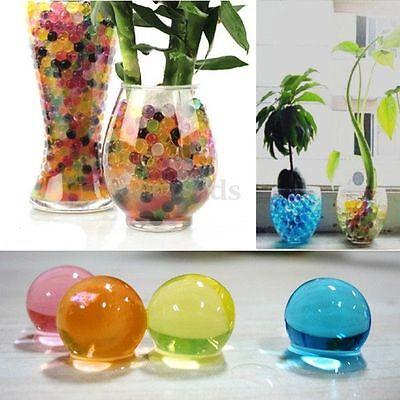 Bille Hydrogel Perles D'eau Cristal Gel Vase Bouquet Déco Fleurs Mariage Fête