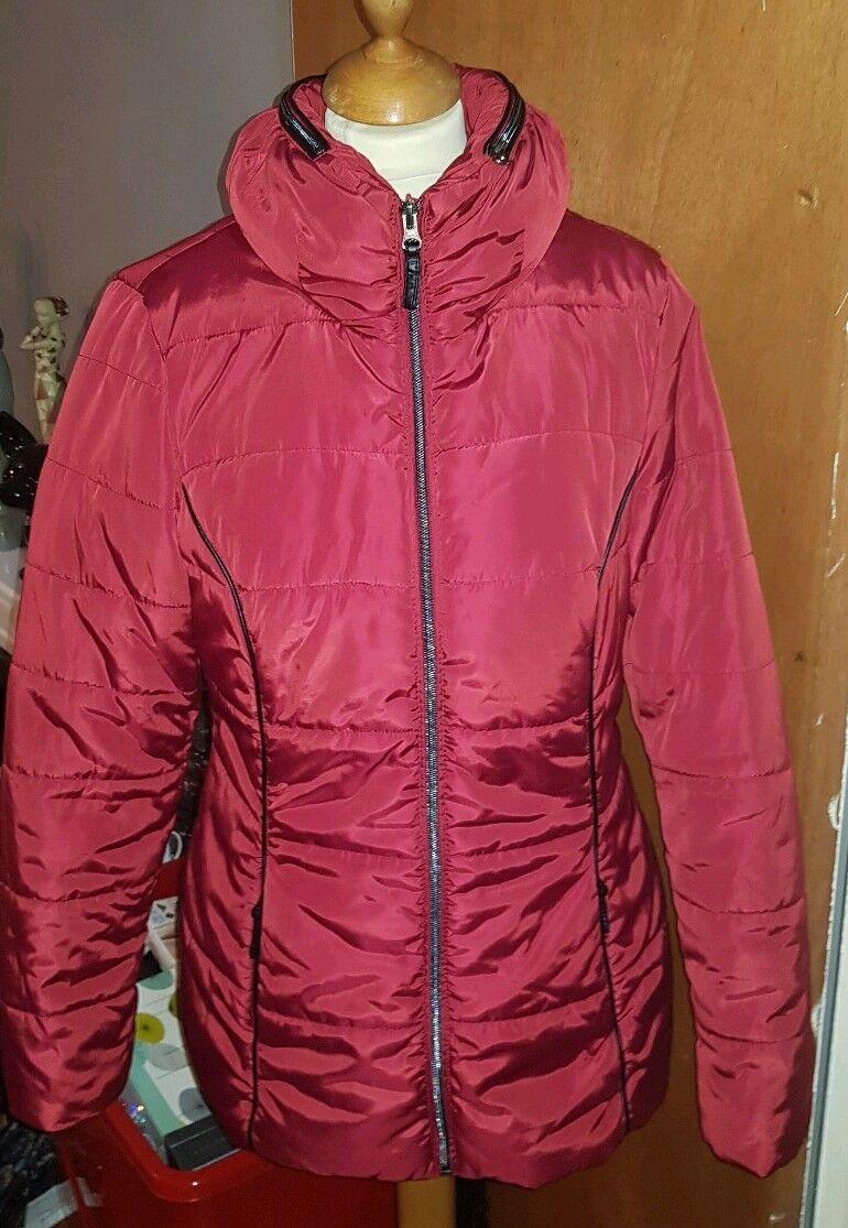 Women's Jensen Stunning Winter Warm Hooded Coat - Size 12