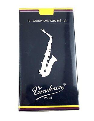 2 vandoren ance sax baritono in mib confezione da 5 pezzi traditional blu mis