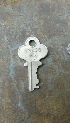 1144 Antique Steamer Trunk Key UG250 Antique Key Excelsior Chest Lock
