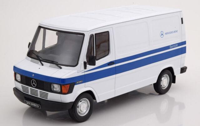 1:18 KK-Scale Mercedes 208 D Mercedes Service 1988 white/blue