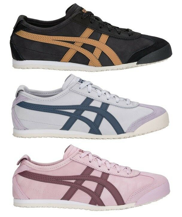 SHOES ONITSUKA TIGER MEXICO 66 1183A198 D2J4L DL408 D4J2L LIMITED LEATHER USA
