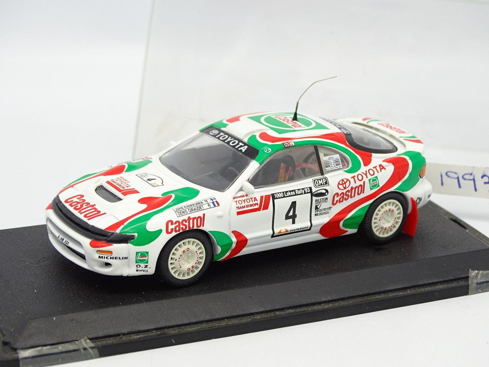 Trofeu 1 43 - Toyota Celica 4X4 1993 1000 Lakes Rally Kankkunen