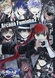 Arcana-Famiglia-2-Official-Visual-Fan-Book-Manga-Game-Art-Book-Anime