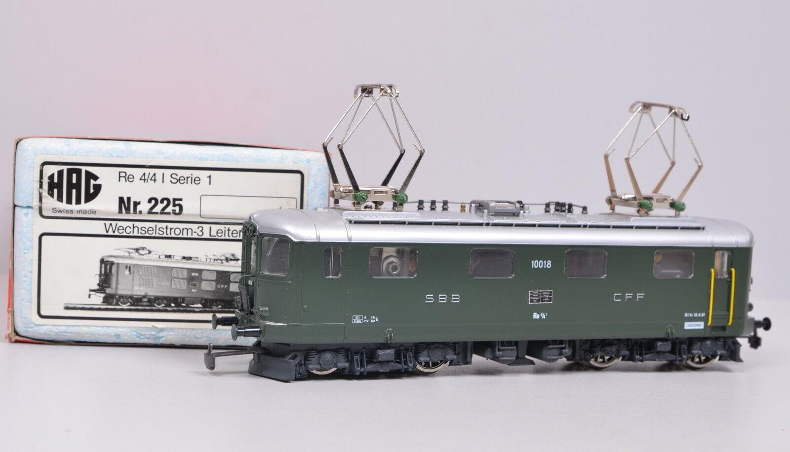 Hag 225 E-Lok Series re 4 4 della SBB Cast Unuse conf. Orig.