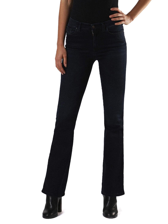 Diesel Skinzee-Flare High 0679M Stretch Pantalones Vaqueros de women Campana