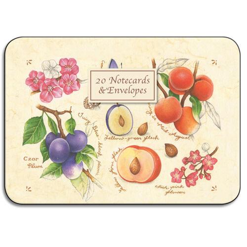Nature/'s Charm 20 Notecards /& Enveloppes Tin