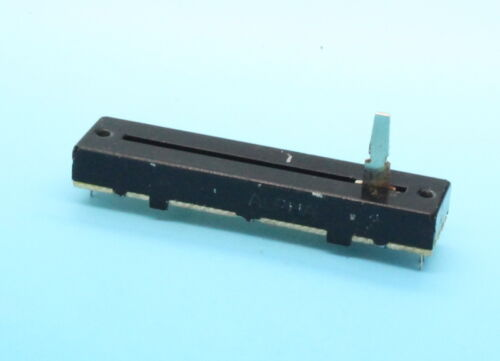 Alpha 72 mm Dual-Bande B10K 10K Linear Taper Slide Potentiomètre Pot comme est