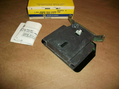 Square D Starter Power Pole 9999 SB-7       NEW IN BOX