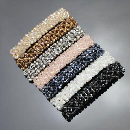 Bling Beads Barrette Hairpin Crystal Rhinestone Hair Accessories Hair Clip