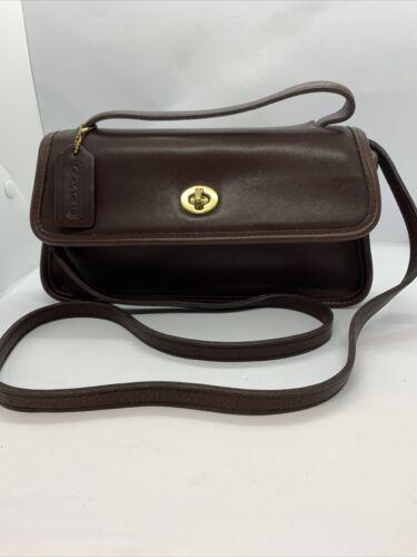Vintage Coach Legacy Geometric 9044 Chocolate Brow