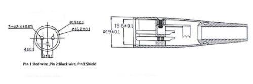 Ladegerät für Lithium-Ionen Akku 36V 2A 3 Pins XLR für E-Bike Pedelec STC-8127LC