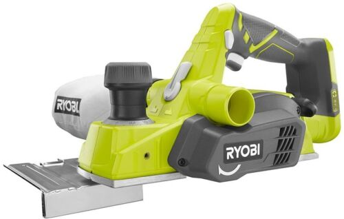 Ryobi Cordless Planer Woodworking 18-Volt ONE Blades Wrench Dust Bag 3-1//4 in