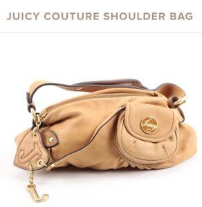 JUICY-COUTURE-Tan-Leather-Shoulder-Bag
