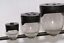 Frenzee Soft Pots Clear /& Black
