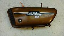 1974 Yamaha RD250 RD350 RD 250 350 Y521' left side oil tank reservoir side cover