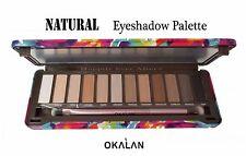 Matte & Nude Eyeshadow Palette -Okalan Natural Eyeshadows 12 Colors
