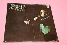 CHARLES AZNAVOUR LP AVE MARIA ORIGINALE ITALIA 1979 SIGILLATO SEALED !!!!!!!!!!!