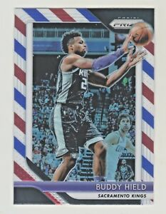 2018-19-Panini-Prizm-RED-WHITE-amp-BLUE-REFRACTOR-PRIZM-BUDDY-HIELD-QTY-AVAILABLE