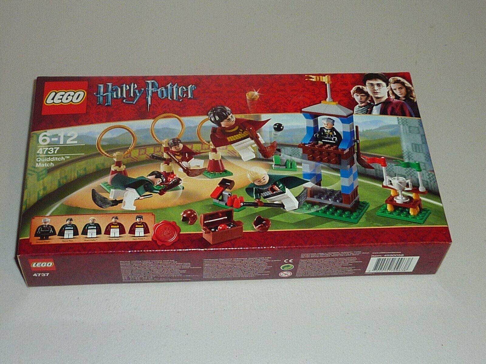 Lego Harry Potter 4737 partido de Quidditch Nuevo Sellado