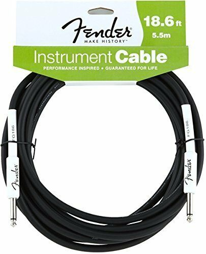 Fender Professional Series Cable 3m bk angled