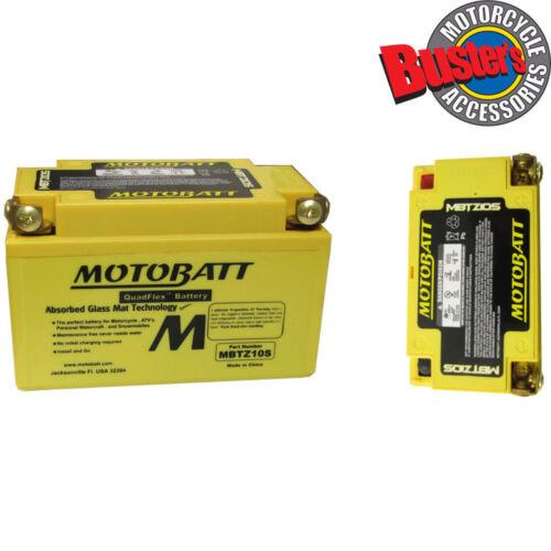 Kymco Zing 125 1998 CTX7A-BS Motobatt Motorcycle Battery Upgrade