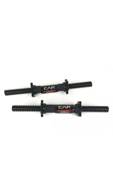 CAP SDA-14TRB-3 14 inch Dumbbell Handle with Spinlock Collars for sale online