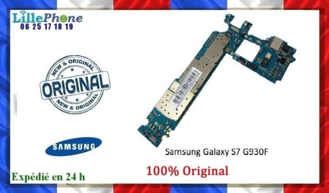 Carte mère pour Samsung Galaxy S7 G930F 32 Go débloquée Garantie 6 mois