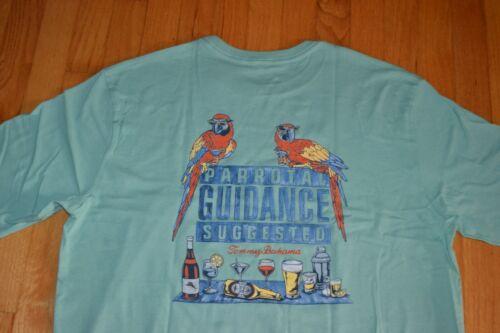 """Tommy Bahama /""""Parrotal Guidance/"""" T-Shirt Men/'s Sz X-Large Color Dusty Aruba NWT"""