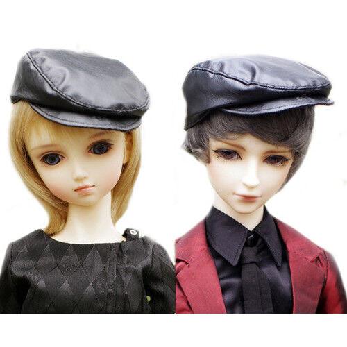 PF Black Leather Cap For 1//4 MSD DOD DZ BJD Doll Dollfie