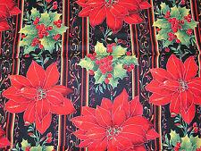 Shabby Tissu PATCWORK Noel Floral★113 x 98 cm★Au metre★100% coton
