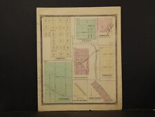 Missouri , Marion County Map, Emerson,Sunyside, & Tilden 1875 J4#15
