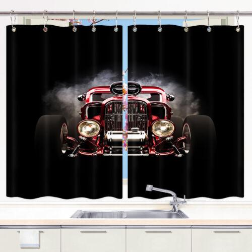 Road train truck head Shower Curtain Bathroom Decor Fabric /& 12hooks 71x71in