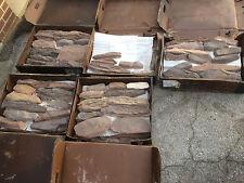 approx 15 sq/ft Eldorado Soldier / Trimstone Suede stone veneers
