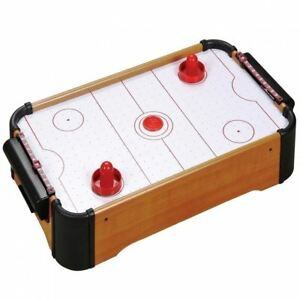 Mini Table-Top Air Hockey Jeu Poussoirs palets Famille Cadeau De Noël Arcade Toy Playset 							 							</span>