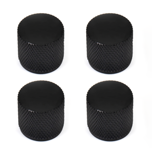 4-Pcs-Guitar-Knobs-for-Telecaster-Precision-Bass-Replacement-Black-with-Screw