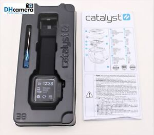 quality design 6bf7b 2e0b8 Details about Catalyst Waterproof Case For Apple Watch 38mm Series 2 &  Series 3 Stealth Black