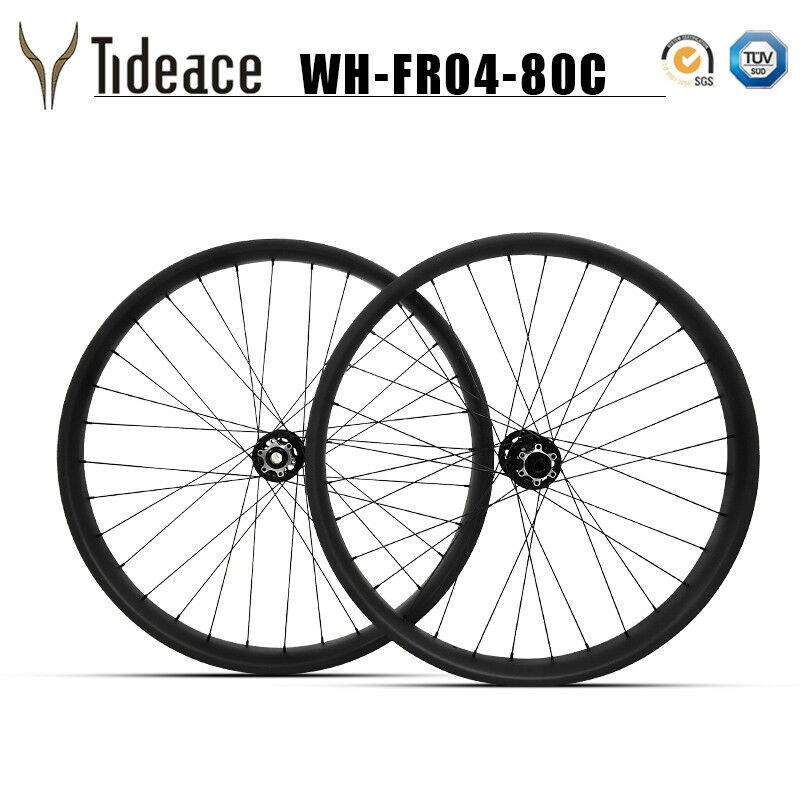 Carbon Fat Bicycle Wheels t800 Snow Bike Wheelset Disc  Brake 26er 32-32 holes  wholesale price