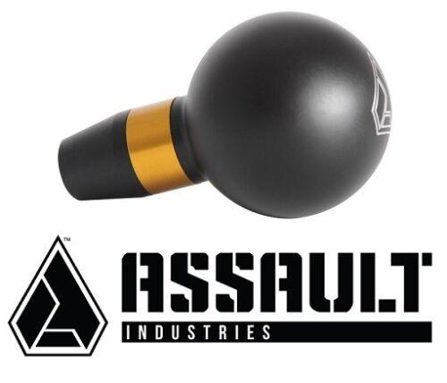 Assault Industries GT Shift Knob Black Gold for 2013-2018 Can Am Maverick /& X3