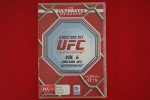 UFC-Volume-6-DVD-Free-Postage