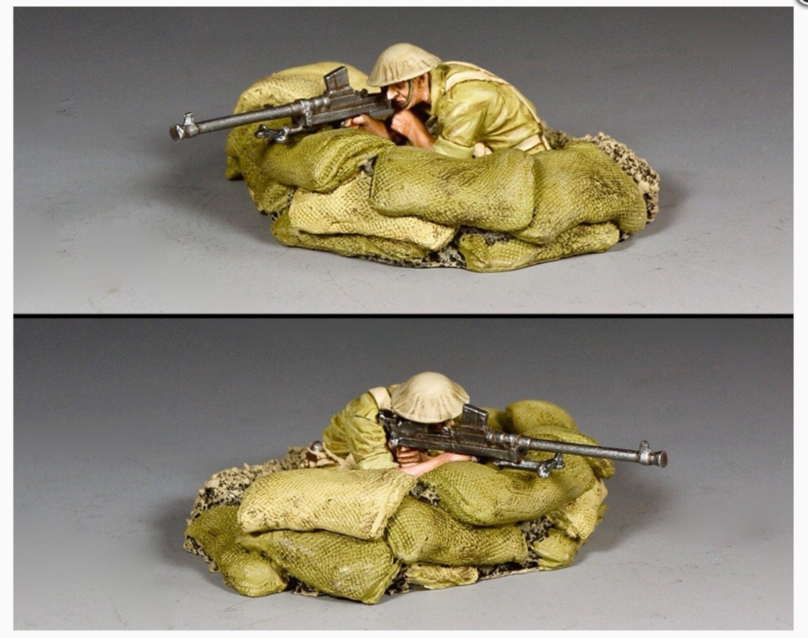 EA126 WW2 British Desert Rats Trench Trench & 'Boys' Anti Tank Gun Set New Mint EA 126