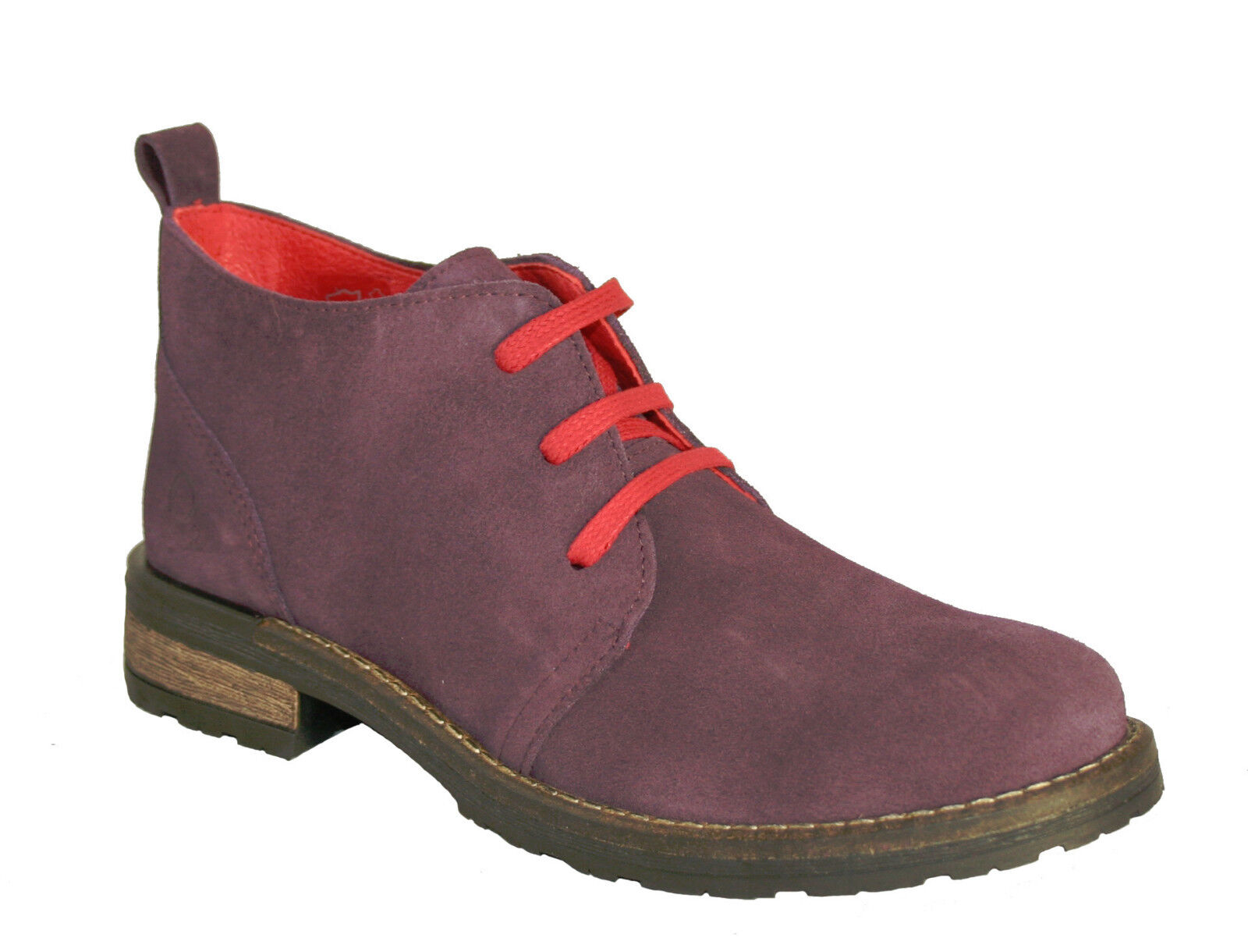 Oxygen Suede Größes Ankle Boot Tweed Purple Größes Suede 36-41 (UK3 -7.5) 016b20