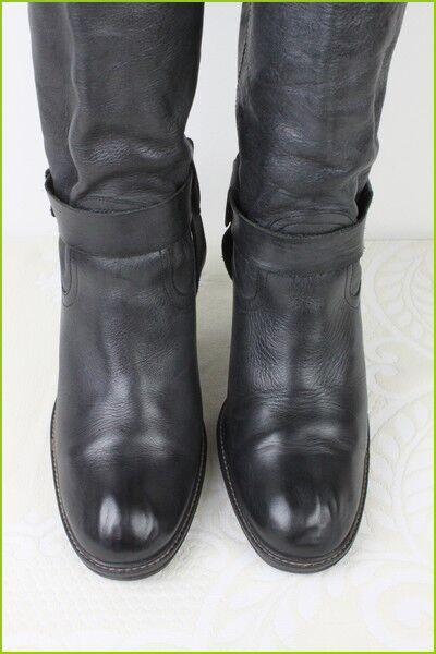 Stivali Stivali Stivali PASTELLE Pelle Nera T 41 ottima qualità fff0b1