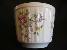 """VINTAGE James Kent/Old Foley 'Chinese Rose' 5.5"""" scanalata FIORIERA c.1960s"""