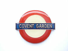 UNDERGROUND COVENT GARDEN LONDON TUBE STATION SIGN TRAIN RAILWAY PIN BADGE 99p