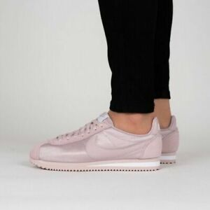 best website 41c93 7b2e2 Image is loading NIKE-Classic-Cortez-Nylon-Particle-Rose-749864-607-