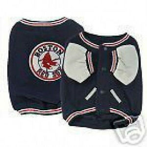 MLB-Boston-Red-Sox-Dog-Pet-VARSITY-JACKET-Closeout-SPECIAL-PRICES-HURRY