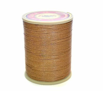 "New Sajou Fil au Chinois ""Lin Cable"" Waxed Linen Thread - 185 (Beige) 5 sizes"