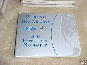 2005 Ford Expedition Navigator Wiring Diagrams Ebay